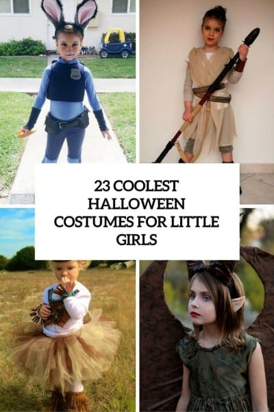 23 Coolest Halloween Costumes For Little Girls