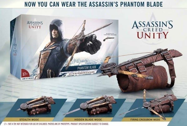 Assassin's Creed Unity Wearable  Phantom Blade  Available Now