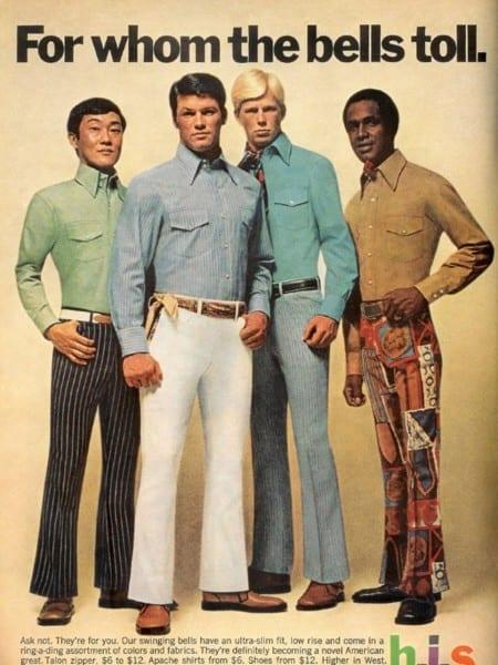 1970s Clothing Advertisements Show Decade's Cringe