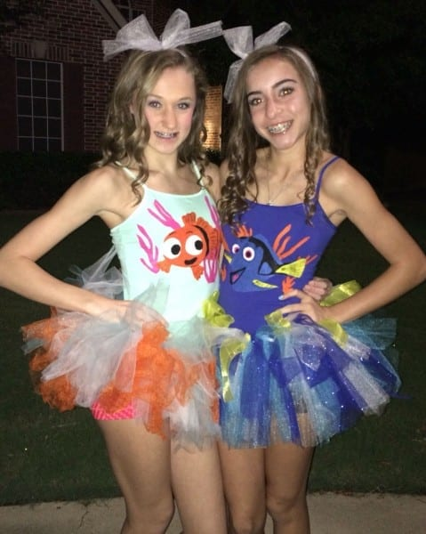 Cute Nemo And Dory Costumes