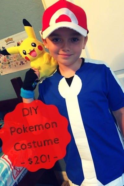 Diy Pokemon Costume For $20