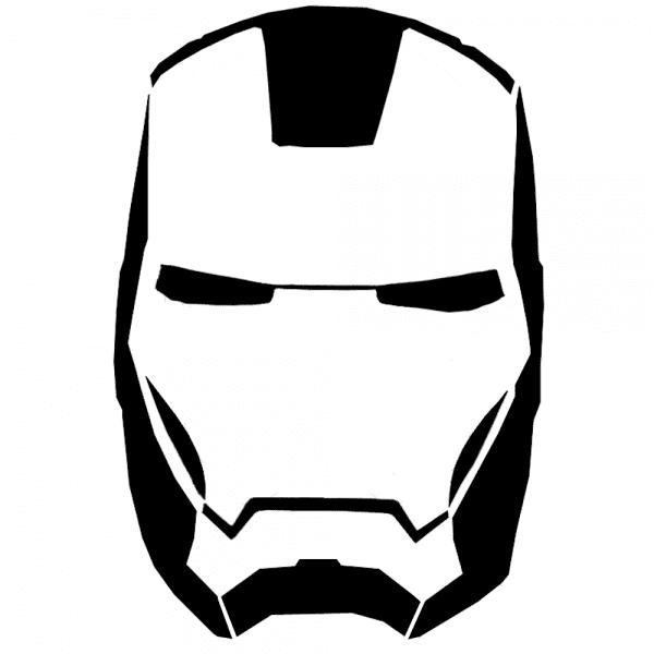 Ironman Stencil