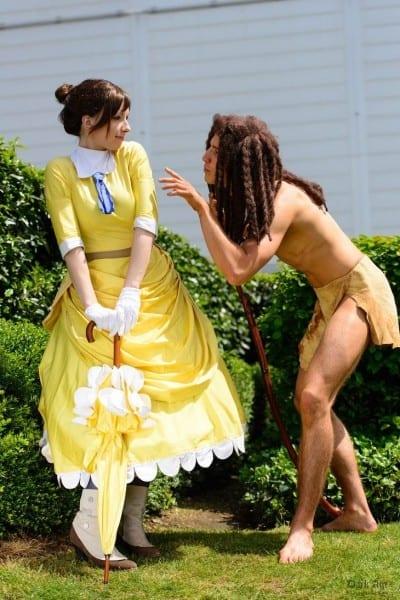 Tarzan And Jane By  Rayi