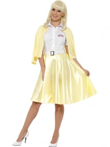 Adult Grease Good Sandy Costume Pink Ladies 50s 70s Fancy Dress