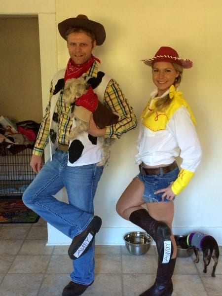 Woody, Jessie And Bullseye Costumes  Toy Story Costumes