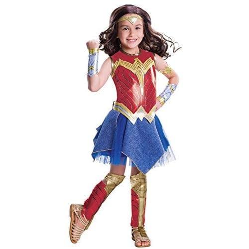 Wonder Woman Movie Child's Deluxe Costume, Medium High