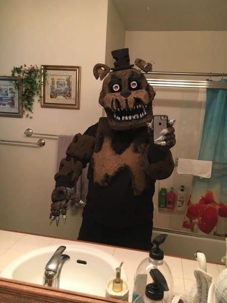 Creature Complex Cosplay — Nightmare Freddy Progress! Oh Shoot, I