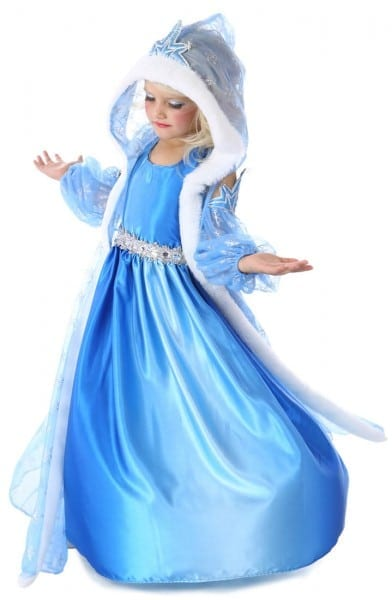 Icelyn The Winter Princess Girls Costume