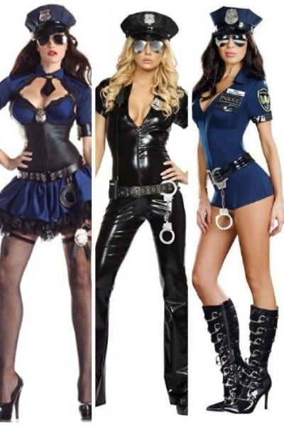 Sinister, Cute And Slightly Naughty Cop Halloween Costumes For