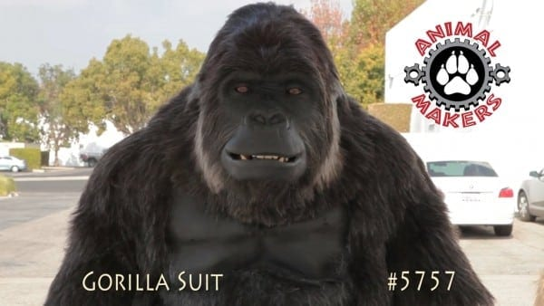 Colossus  Gorilla Suit 5757 By Animal Makers On Vimeo