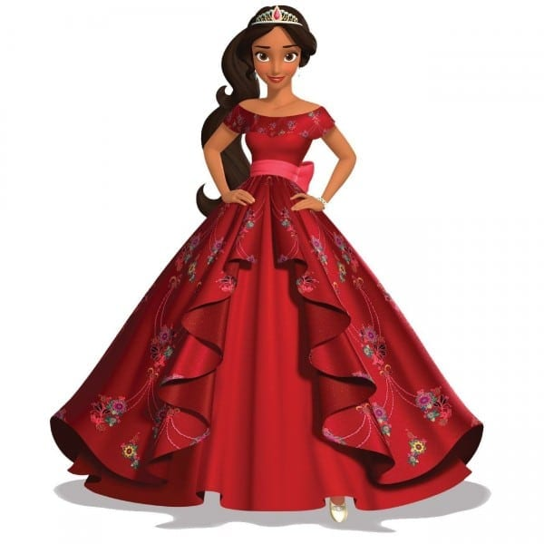 P310 Elena Of Avalor Costume Movie Cosplay Princess Party Custom