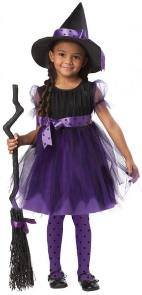 Costumes    Toddler Witch Costume    Charmed Cute Witch Kids