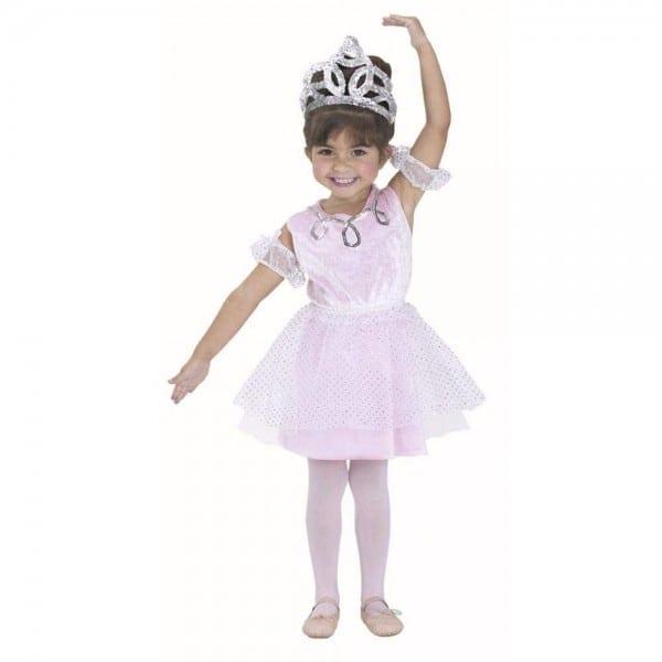 Amazon Com  Child's Toddler Ballerina Girl Halloween Costume (1