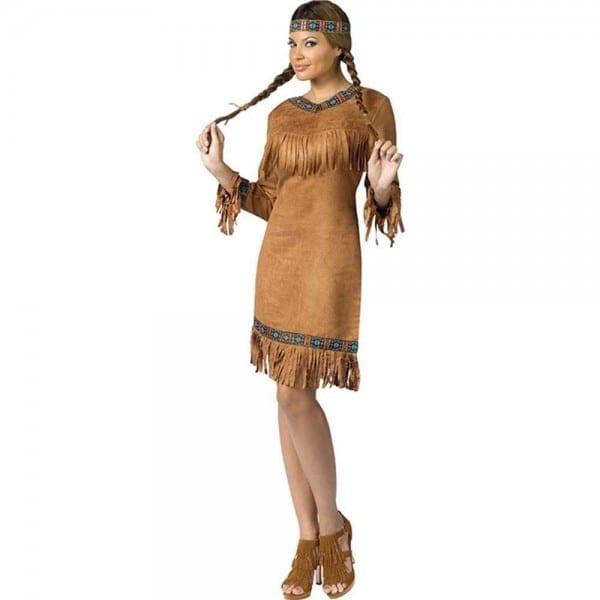 Amazon Com  Fun World Women's Native American Costume  Clothing