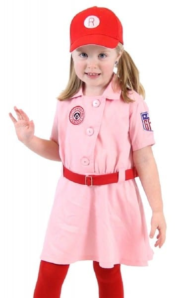 Amazon Com  Rockford Peaches Aagpbl Baseball Girls Costume Dress
