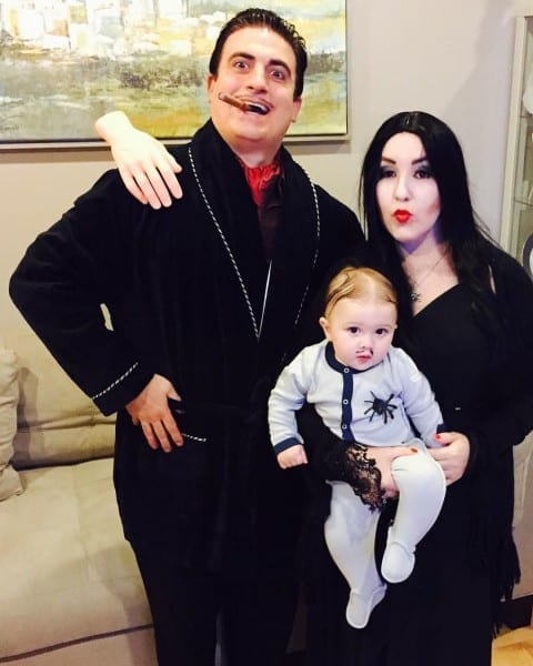 The Addams Family Gomez, Morticia And Pubert Addams Family