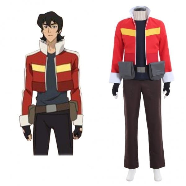 Cosplaydiy Voltron  Legendary Defender Keith Cosplay Costume Men's