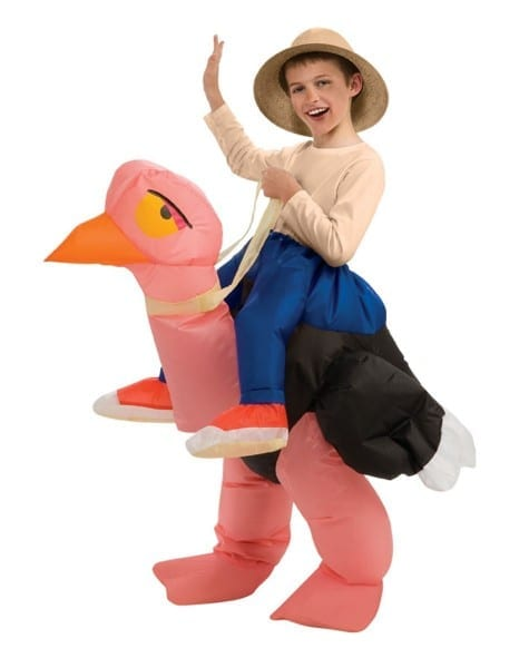 Ollie The Ostrich Inflatable Child Halloween Costume