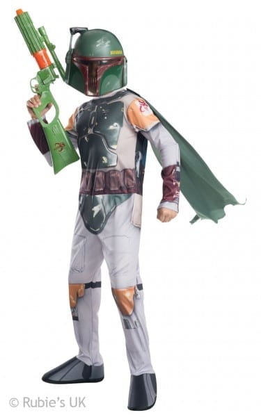 Boys Star Wars The Force Awakens Episode 7 Boba Fett Fancy Dress