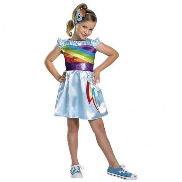 Amazon Com  Rainbow Dash My Little Pony Costume Child