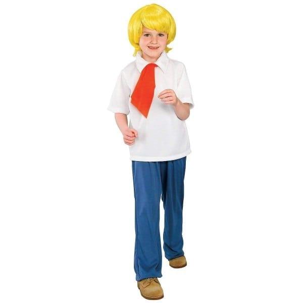 Amazon Com  Scooby Doo Fred Child Costume (medium)  Toys & Games