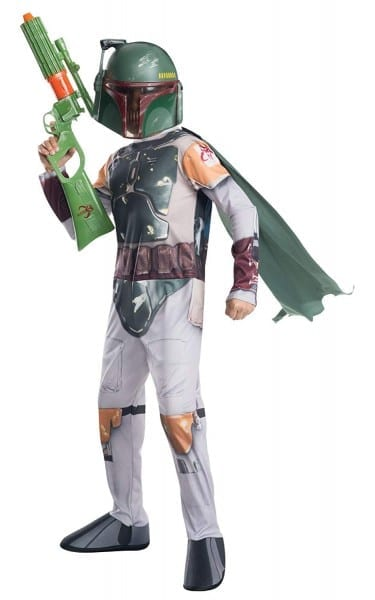 Amazon Com  Rubie's Costume Star Wars Classic Boba Fett Child