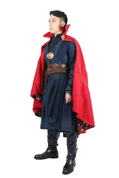 Amazon Com  Xcostume Strange Costume Deluxe Dr Outfit Red Cape