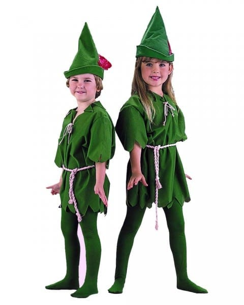 Amazon Com  Charades Child's Peter Pan Costume Storybook, Green, X