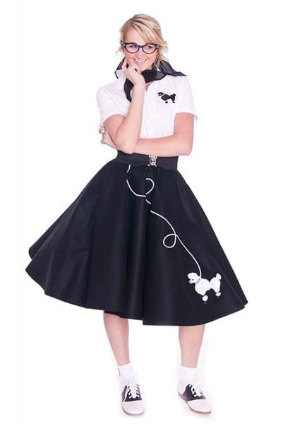 Amazon Com  Hip Hop 50s Shop Adult Poodle Skirt  Clothing
