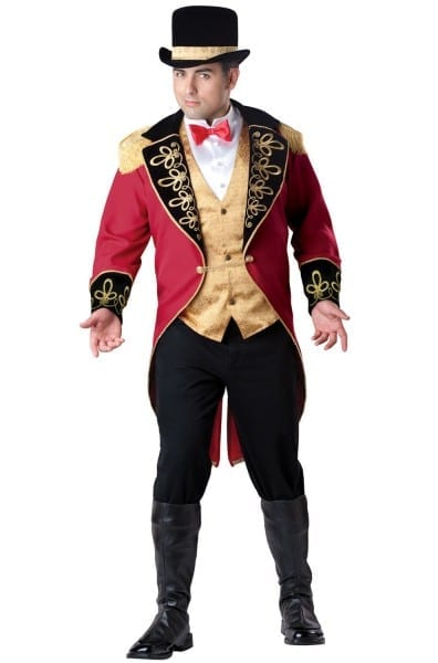 Great Ringmaster Plus Size Costume