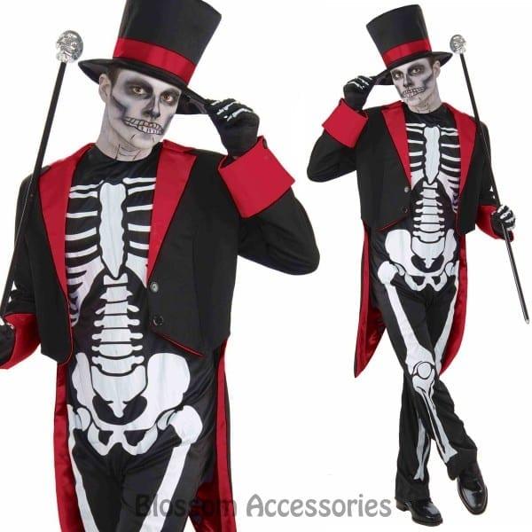 Ca40 Mr Bone Jangles Halloween Horror Voodoo Dia De Los Muertos