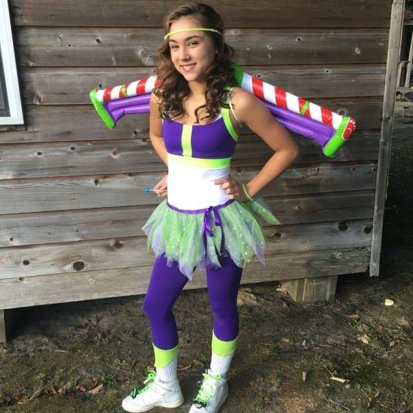Diy Homemade Teen Toy Story Buzz Light Year Halloween Costumes