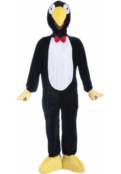 Penguin Mascot Costume, Plush Animal Fancy Dress