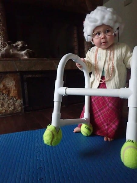 70 Unique Baby Halloween Costumes That Inspire Creative, Old Woman