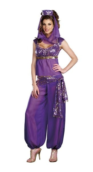 Amazon Com  Dreamgirl Women's Ally Kazam Costume, Purple, Small