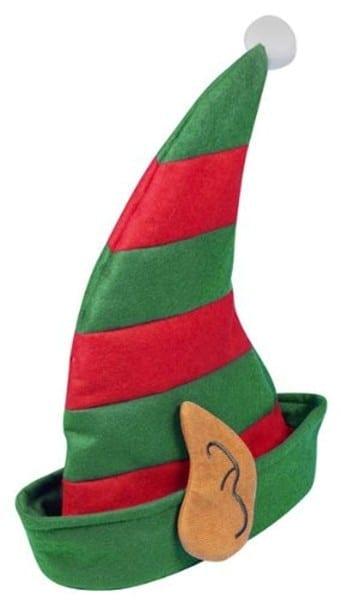 Boys Or Girls School Christmas Party Elf Pixie Santa's Helper Hat
