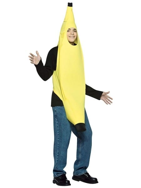 Amazon Com  Rasta Imposta Teen Banana Halloween Costume, One Size