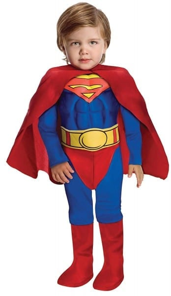 Amazon Com  Super Dc Heroes Deluxe Muscle Chest Superman Costume