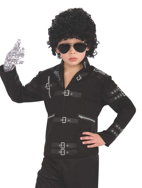 Amazon Com  Michael Jackson Child's Value Bad Buckle Jacket