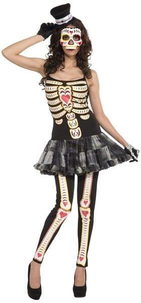Amazon Com  Forum Women's Day Of The Dead Costume, Multi, Standard