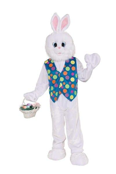 Amazon Com  Forum Deluxe Plush Funny Bunny Mascot Costume, White