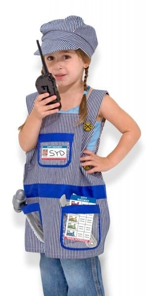 Amazon Com  Melissa & Doug Train Engineer Role Play Costume Dress