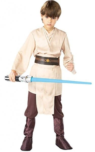 Rubies Costume Co  Star Wars Child's Deluxe Jedi Knight Costume