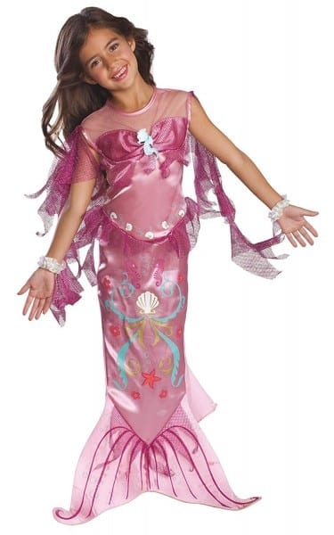 Amazon Com  Child's Pink Mermaid Costume, Small  Toys & Games