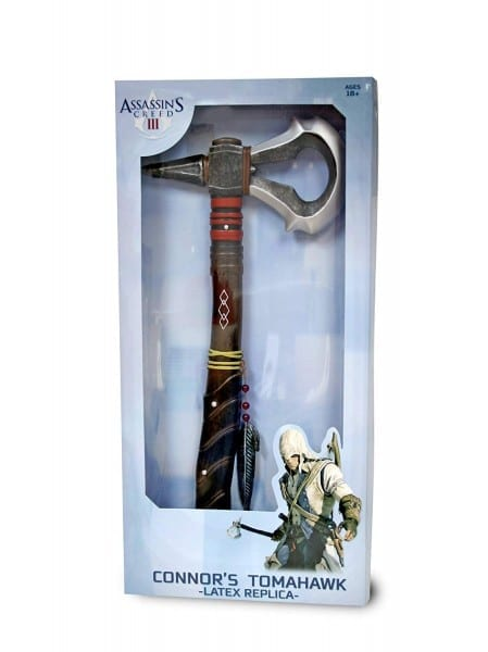 Assassin's Creed Iii Connor's Latex Tomahawk Replica  Amazon Co Uk