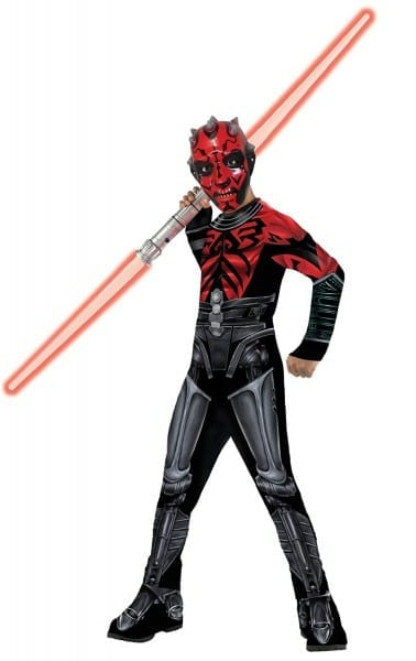 Amazon Com  Star Wars The Clone Wars Darth Maul Costume Kit