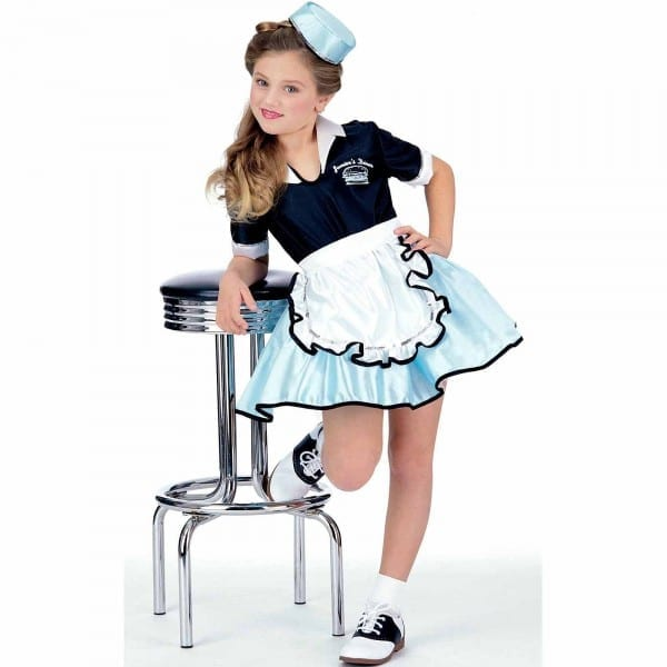 Car Hop Girl Child