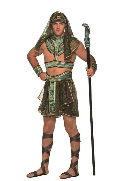 Egyptian Pharaoh Costume Mens King Tut Halloween Costume Adult