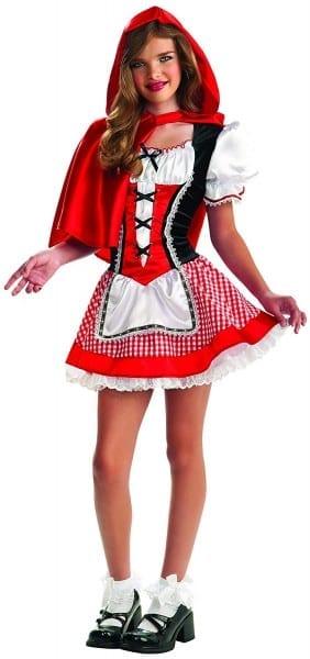 Amazon Com  Rubie's Drama Queens Tween Red Riding Hood Costume
