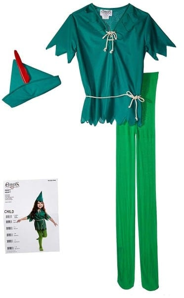 Amazon Com  Charades Peter Pan Costume  Toys & Games